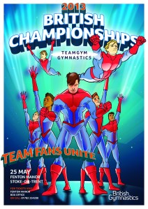 TeamGym British Poster 2013