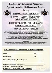 SGA Halloween Party