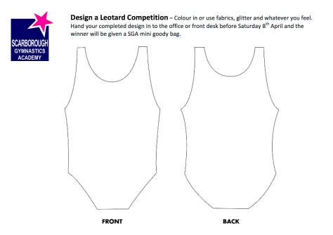 Design a Leotard Boys