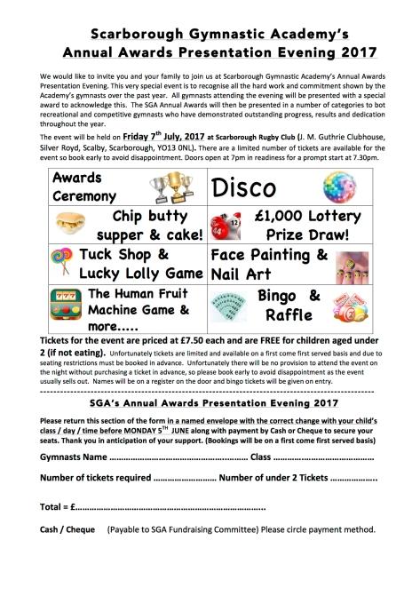 Presentation eve letter - 2017
